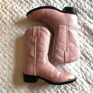 Little Girl's Dusty Pink Durango Boots size 12